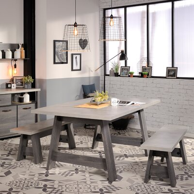 Larimore 3 Piece Dining Set