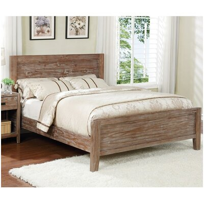 Ulrey Platform Bed Size: Queen, Color: Pine Cone