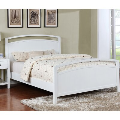 Karas Platform Bed Size: King, Color: Gloss White