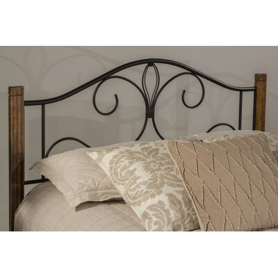 Claudio Open-Frame Headboard Size: Twin, Color: Oak
