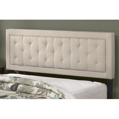 Keesler Upholstered Panel Headboard Size: Full/Queen, Upholstery: Fog
