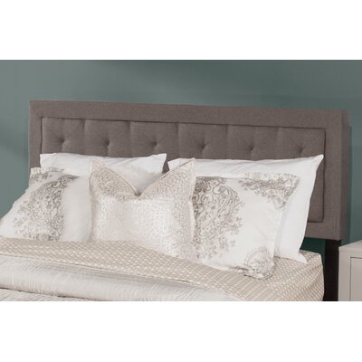Keesler Upholstered Panel Headboard Size: King, Upholstery: Stone