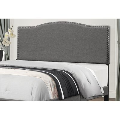Whitted Upholstered Panel Headboard Size: King