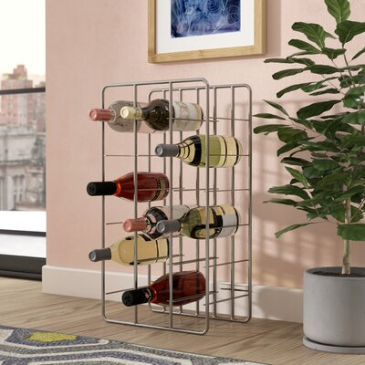 18 Bottle Floor Wine Rack