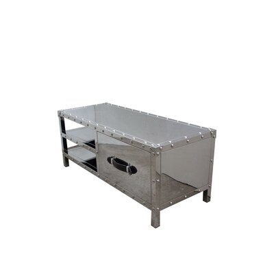 Elzy Steel 40 TV Stand