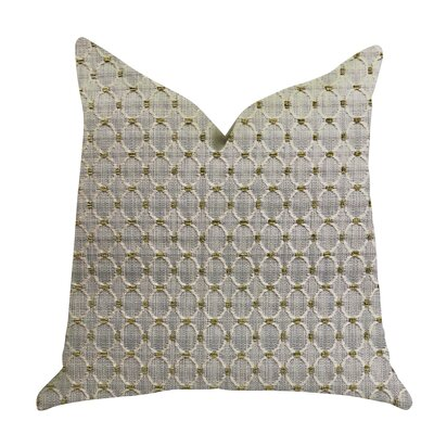 Kalmar Ringed Luxury Pillow Size: 18 x 18, Product Type: Throw Pillow
