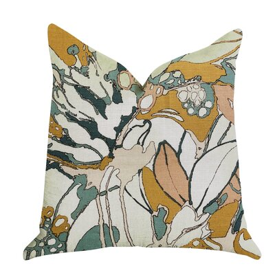 Kastelholm Floral Luxury Pillow Size: 24 x 24, Product Type: Throw Pillow