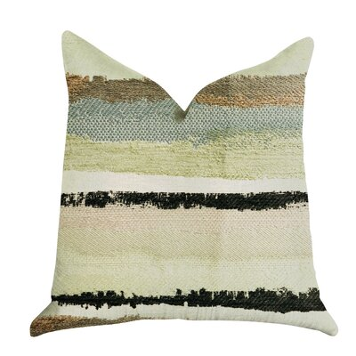 Deshields Stone River Sand Luxury Pillow Size: 24 x 24, Product Type: Throw Pillow
