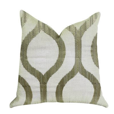 Kopp Light Grass Luxury Pillow Size: 16 x 16, Product Type: Throw Pillow