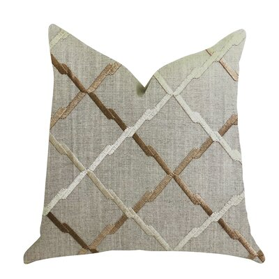 Mccroskey Square Luxury Pillow Size: 20 x 30, Product Type: Lumbar Pillow