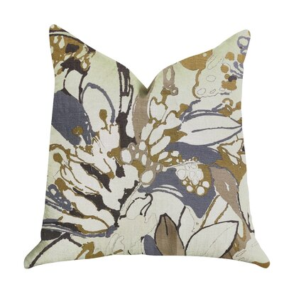 Kastelholm Floral Tones Luxury Pillow Size: 24 x 24, Product Type: Throw Pillow