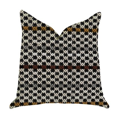 Glennon Woven Luxury Pillow Size: 26 x 26, Product Type: Euro Pillow