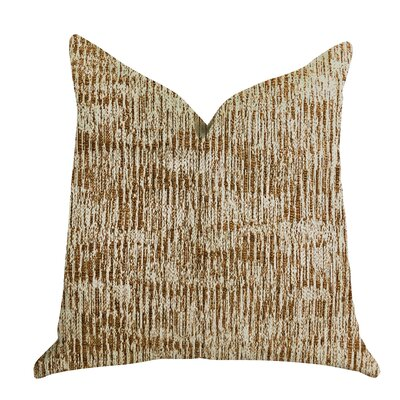 Gallion Textured Luxury Pillow Size: 20 x 20, Product Type: Throw Pillow