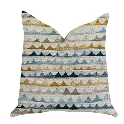 Delmar Rush Patterned Luxury Pillow Size: 22 x 22, Product Type: Throw Pillow