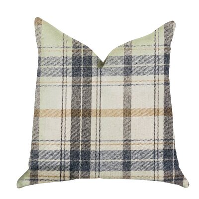 Hillingdon Plaid Luxury Pillow Size: 24 x 24, Product Type: Throw Pillow
