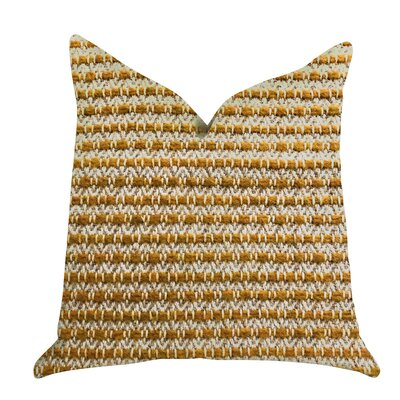 Redrick Braid Tones Luxury Pillow Size: 24 x 24, Product Type: Throw Pillow