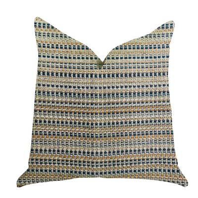 Demarest Braid Luxury Pillow Size: 24 x 24, Product Type: Throw Pillow