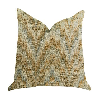 Demars Ripple Luxury Pillow Size: 16 x 16, Product Type: Throw Pillow