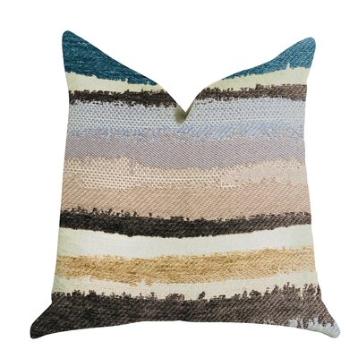 Demetra Luxury Pillow Size: 18 x 18, Product Type: Throw Pillow