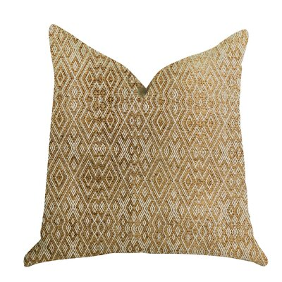Demartini Gem Luxury Pillow Size: 18 x 18, Product Type: Throw Pillow
