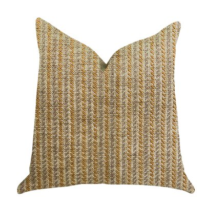 Reider Woven Luxury Pillow Size: 20 x 20, Product Type: Throw Pillow
