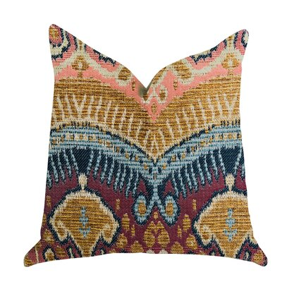 Reidy Ikat Luxury Pillow Size: 18 x 18, Product Type: Throw Pillow