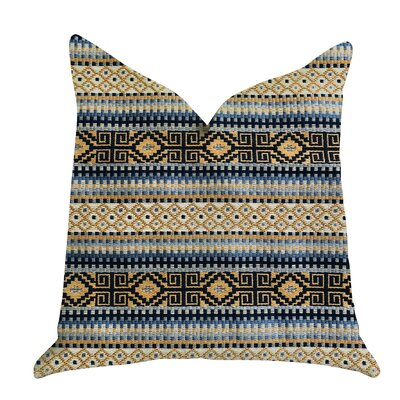Galliher Textured Luxury Pillow Size: 24 x 24, Product Type: Throw Pillow