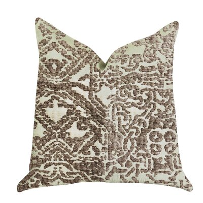Goodner Textured Luxury Pillow Size: 16 x 16, Product Type: Throw Pillow