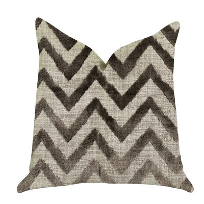 Demello Zigzag Luxury Pillow Size: 18 x 18, Product Type: Throw Pillow