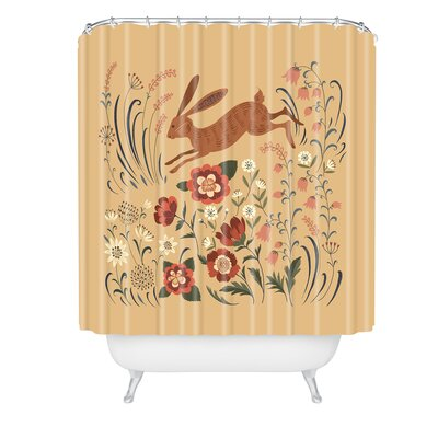 Pimlada Phuapradit Hare Shower Curtain