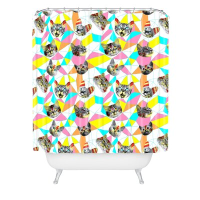 Ali Gulec Cats Army Shower Curtain