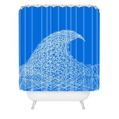 Fimbis Wave Shower Curtain