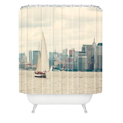 Catherine McDonald Sail NYC Shower Curtain