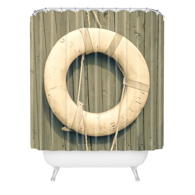 Olivia St Claire Ahoy Shower Curtain