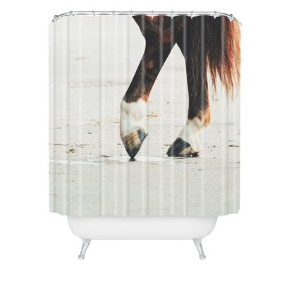 Ingrid Beddoes Horse Tango Shower Curtain