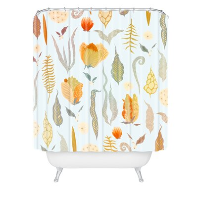 Iveta Abolina Blanche Garden Shower Curtain