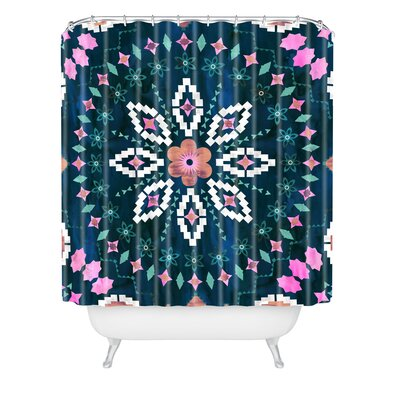 Schatzi Brown Aviana Mandala Shower Curtain