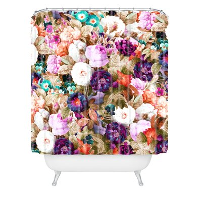 83 Oranges Eves Garden Shower Curtain