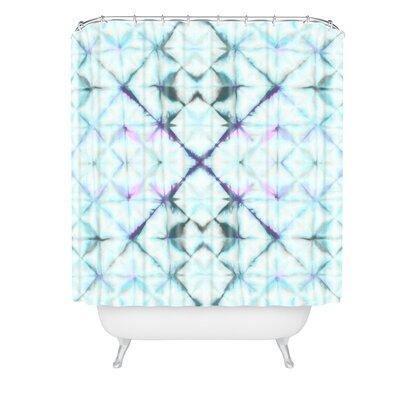 Amy Sia Tangier Aqua Shower Curtain