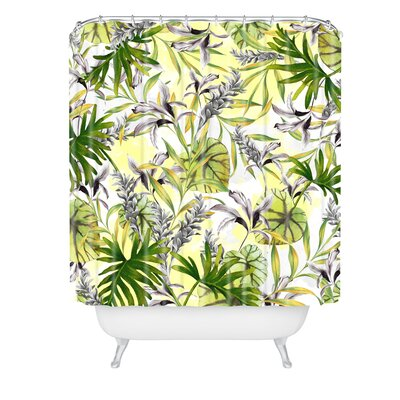 Marta Barragan Camarasa Stylish Jungle Shower Curtain