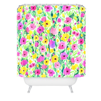 Jacqueline Maldonado Flower Shower Curtain