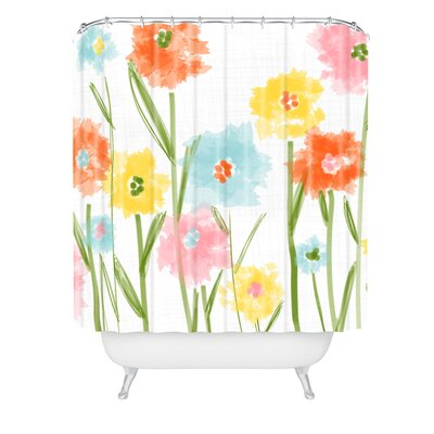 Jenean Morrison Breakfast in Bed Shower Curtain