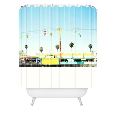 Bree Madden Santa Cruz Beach Shower Curtain