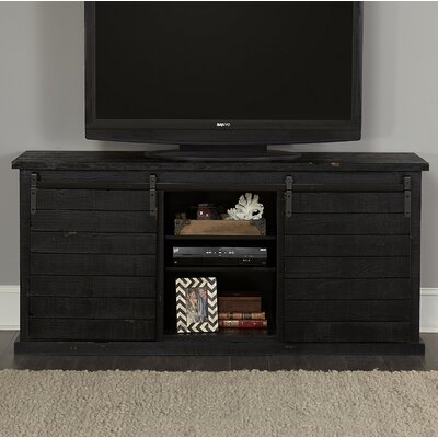 Laursen 64 TV Stand Color: Black