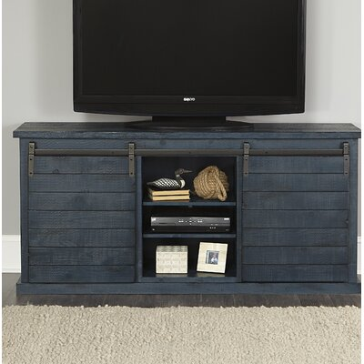 Laursen 64 TV Stand Color: Navy