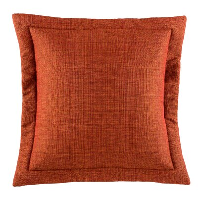 Postel Solid Euro Sham Color: Spice