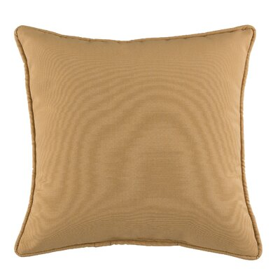 Postel Cotton Throw Pillow Color: Gold