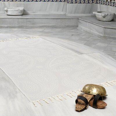 Kiernan Space Saving Fast Drying All Natural Ultra Lightweight Peshtemal Fouta Travel Beach Towel Color: Gray