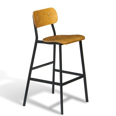 Gallotti Bar Stool (Set of 50) Size: 41 H x 22 W x 21 D
