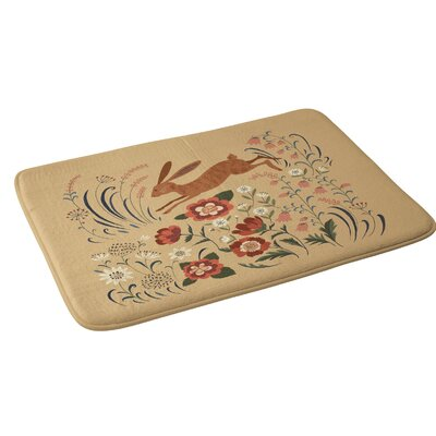 Pimlada Phuapradit Brown Hare Bath Rug